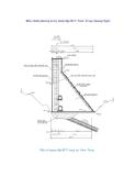 Điều chỉnh phương án kỹ thuật đập RCC Nước Trong (Quảng Ngãi)