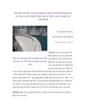 THỬ BÀN VỀ MỘT VÀI QUY ĐỊNH CÓ LIÊN QUAN ĐẾN ĐÁNH GIÁ AN TOÀN ĐẬP VÒM BÊ TÔNG TRONG TIÊU CHUẨN THIẾT KẾ 14TCN56-88