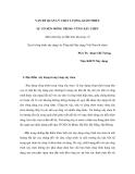 VẤN ĐỀ QUẢN LÝ CHẤT LƯỢNG, GIẢM THIỂU SỰ CỐ NỀN MÓNG TRONG VÙNG XÂY CHEN