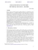 ĐÁNH GIÁ PHÂN BỐ XÁC SUẤT PHÁT ĐIỆN THUỶ ĐIỆN BẬC THANG SƠN LA – HOÀ BÌNH
