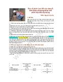 Bàn về phân loại đất xây dùng & Giới thiệu phương pháp mới phân loại đất xây dựng