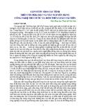 CẤP NƯỚC CHO CÁC TỈNH MIỀN NÚI PHÍA BẮC VÀ TÂY NGUYÊN BẰNG CÔNG NGHỆ THU NƯỚC VÀ BƠM THỦY LUÂN CẢI TIẾN