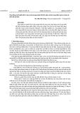 Ứng Dụng lý thuyết độ tin cậy và phương pháp thiết kế ngẫu nhiên trong đánh giá an toàn ổn định đê kè biển