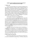 NGHIÊN CỨU NÂNG CAO HIỆU QUẢ SỬ DỤNG CÁC TRẠM BƠM CŨ PHỤC VỤ TƯỚI TIÊU TRONG NÔNG NGHIỆP