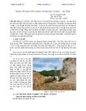 PHÂN TÍCH NGUYÊN NHÂN VỠ ĐẬP KE 2/20 REC – HÀ TĨNH