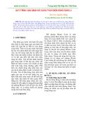 QUY TRÌNH VẬN HÀNH HỒ CHỨA THỦY ĐIỆN SÔNG BUNG 4