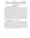 MỘT SỐ ƯU ĐIỂM CỦA THÙNG CHÌM BÊ TÔNG CỐT THÉP CÓ BUỒNG TIÊU SÓNG TRONG XÂY DỰNG CÔNG TRÌNH BIỂN