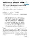 "Báo cáo sinh học: ""Inverse bifurcation analysis: application to simple gene systems"""