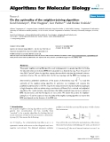 """Báo cáo sinh học: """"On the optimality of the neighbor-joining algorithm"""""""