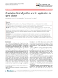 """Báo cáo sinh học: """" Gravitation field algorithm and its application in gene cluster"""""""