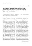 "Báo cáo khoa học: ""An Unusual Congenital Malformation in a Calf with Serological Evidence of Foetal Bovine Viral Diarrhoea Virus Infection"""