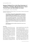 """Báo cáo khoa học: """" Immune-Mediated Fever in the Dog. Occurrence of Antinuclear Antibodies, Rheumatoid Factor, Tumor Necrosis Factor and Interleukin-6 in Serum."""""""