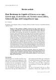 "Báo cáo khoa học: ""Review article Heat Resistance in Liquids of Enterococcus spp., Listeria spp., Escherichia coli, Yersinia enterocolitica, Salmonella spp. and Campylobacter spp"""