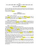 Văn bản về Luật điện lực