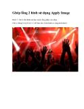 Ghép lồng 2 hình sử dụng Apply Image