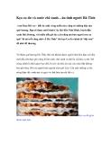 Kẹo cu đơ và nước chè xanh – ân tình người Hà Tĩnh(AmThuc365.vn) - Bất kỳ