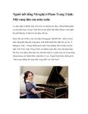 Người nổi tiếng Nữ nghệ sĩ Piano Trang Trịnh: Một cung đàn của mùa xuân