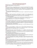 Chuyên đề bài tập luyện thi đại học Bài 8