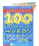100 Vocabulary Words Kids Need to Know