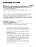"Báo cáo y học: "" An integrated approach to diagnosis and management of severe haemoptysis in patients admitted to the intensive care unit: a case series from a referral centre"""