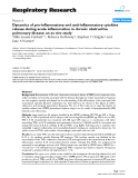 """Báo cáo y học: """"Dynamics of pro-inflammatory and anti-inflammatory cytokine release during acute inflammation in chronic obstructive pulmonary disease: an ex vivo study"""""""
