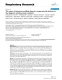 "Báo cáo y học: ""The value of ischemia-modified albumin compared with d-dimer in the diagnosis of pulmonary embolism"""
