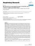 """Báo cáo y học: """"Biochemical and morphological changes in endothelial cells in response to hypoxic interstitial edema"""""""