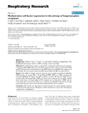 """Báo cáo y học: """"Marked stem cell factor expression in the airways of lung transplant recipients"""""""
