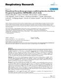 "Báo cáo y học: "" Glutathione S-transferase genotypes modify lung function decline in the general population: SAPALDIA cohort study"""