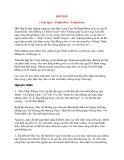Tài liệu Bệnh Học Thực Hành: HỒI HỘP ( Tâm Quý – Palpitation - Palpitation)