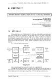 Chương 7 Truyền tín hiệu số bằng sóng mang tương tự: Modem