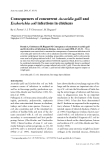"""Báo cáo khoa học: """"Consequences of concurrent Ascaridia galli and Escherichia coli infections in chickens"""""""