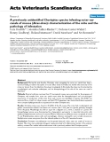"""Báo cáo khoa học: """"A previously unidentified Chorioptes species infesting outer ear canals of moose (Alces alces): characterization of the mite and the pathology of infestation"""""""
