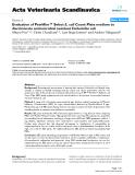 "Báo cáo khoa học: "" Evaluation of Petrifilm™ Select E. coli Count Plate medium to discriminate antimicrobial resistant Escherichia coli"""
