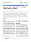 "Báo cáo khoa học: ""Congenital Pelger-Huët anomaly in a Danish/ Swedish Farmdog: Case Report"""