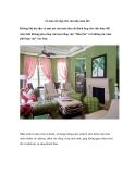 12 màu sắc đẹp cho căn nhà mùa thu