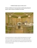 12 thiết kết nhà bếp sáng tạo tràn đầy màu sắc