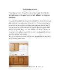 5 cách làm đẹp cho tủ bếp