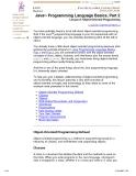java programming language basics phần 10