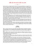 Mẫu Điều lệ công đoàn Việt Nam 2003