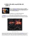 10 điều bí ẩn nhất trong hệ Mặt trời phần 1