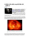 10 điều bí ẩn nhất trong hệ Mặt trời (phần 2)