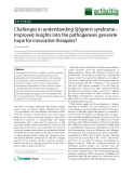 """Báo cáo y học: """"Challenges in understanding Sjögren's syndrome – improved insights into the pathogenesis generate hope for innovative therapie"""""""