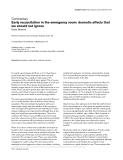 """Báo cáo y học: """" Early resuscitation in the emergency room: dramatic effects that we should not ignor"""""""