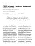 "Báo cáo y học: ""Lactate: a key metabolite in the intercellular metabolic interplay"""