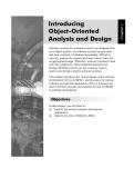 Giới thiệu Phân tích và thiết kế hướng đối tượng