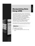 Thao tác dữ liệu Sử dụng LINQ