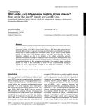 """Báo cáo y học: """" Nitric oxide: a pro-inflammatory mediator in lung disease?"""""""