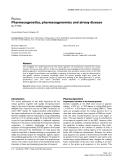 "Báo cáo y học: "" Pharmacogenetics, pharmacogenomics and airway disease Ian P Hall"""