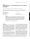 """Báo cáo y học: """"Recent advances in our understanding of human host responses to tuberculosis"""""""
